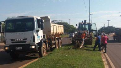 Photo of Praças e canteiros públicos recebem grande operação de limpeza na cidade de Vilhena