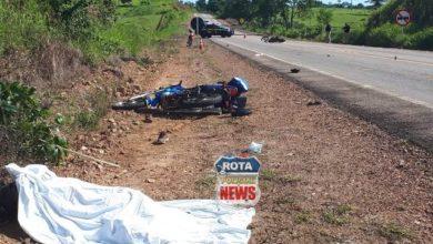 Photo of Gravíssimo acidente entre motos na BR-429 deixa uma pessoa morta e feridas