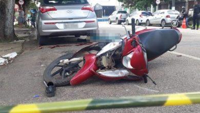 Foto de LUTO: Motociclista  morre após colisão contra caminhonete na capital