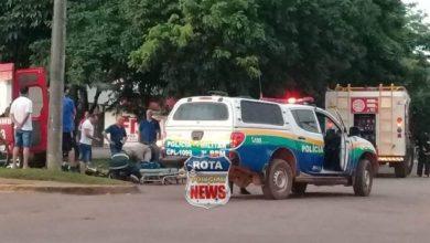 Photo of Motorista atinge bicicleta elétrica e uma pessoa fica ferida
