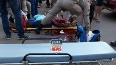 Photo of Urgente: jovem fica em estado grave e apresenta fratura exposta após acidente