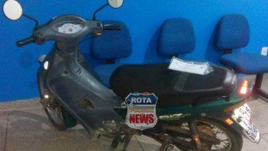 Photo of Bandido armado abandona motoneta furtada no local após roubar a outra mais nova