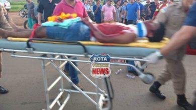 Photo of Ciclista perfurou artéria carótida e passará por cirurgia em Vilhena, seu quadro é grave