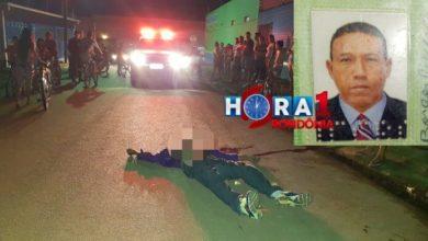Photo of Homem é executado com vários tiros no bairro Cidade Nova em Porto Velho