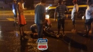 Foto de Identificado homem que morreu atropelado na BR-364 em Vilhena
