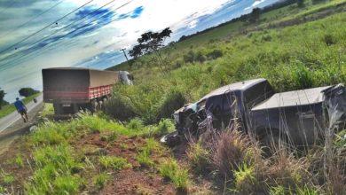 Photo of Colisão entre carreta e camionete divulgado como sendo em rodovia de RO foi em Diamantino/MT