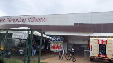 Photo of Urgente: princípio de incêndio no Park Shopping Vilhena