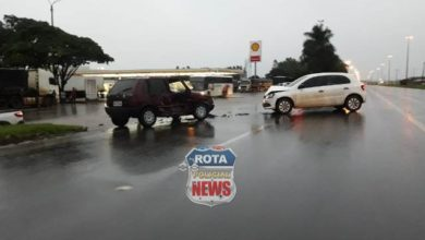 Foto de Primeiro acidente do ano de 2.019 em Vilhena não teve vítima e ocorreu na BR-364
