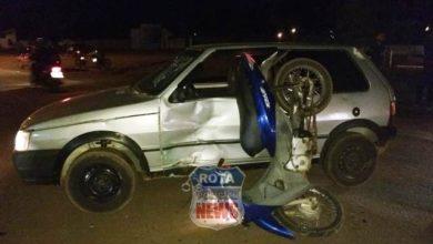 Photo of Colisão entre carro e motocicleta na BR-174 deixa três feridos em Vilhena