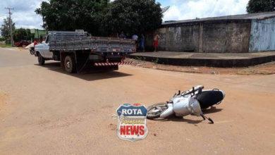 Photo of Caminhão avança via preferencial e se envolve em colisão com motoneta no Setor 06