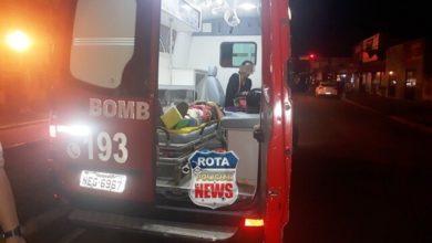 Foto de Pela segunda vez em 6 meses, motociclista fratura perna após acidente de trânsito