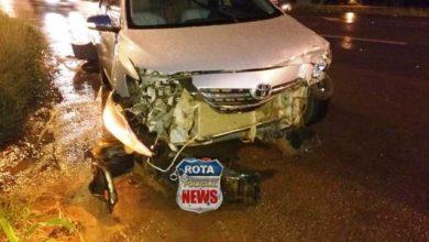 Photo of Colisão entre carros resulta em danos materiais na BR-364 em frente ao posto Planalto