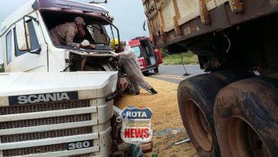 Photo of Motorista tem perna amputada após colidir contra carreta na BR-364 entre Vilhena e Pimenta Bueno
