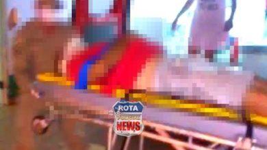 Photo of Urgente: homem que presta serviços no quartel da polícia em Vilhena é esfaqueado