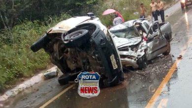 Photo of Quatro pessoas morrem em grave acidente na BR-364 em Vilhena