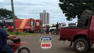 Photo of Colisão entre carro e moto deixa uma pessoa ferida no Jardim América