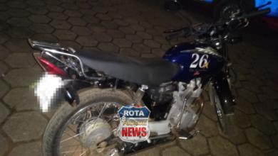 Foto de Policiais Militares conduzem motociclista inabilitado em Vilhena