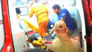 Photo of Falta de sinalização resulta em mais um acidente no setor 08, motociclista fraturou o braço