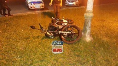 Photo of Motociclista foge de blitz e acaba atingido por radiopatrulha da P-TRAN durante perseguição