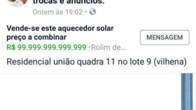 Photo of Indignante: moradora de casinhas do residencial União tenta vender aquecedor solar do Governo em redes sociais