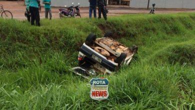 Photo of Veículo que capotou na BR-364 foi furtado em Pimenta Bueno