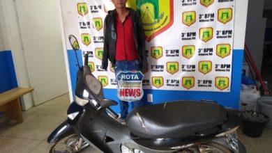 Photo of Motocicleta que havia sido furtada é recuperada pela PM e suspeito é detido por receptação