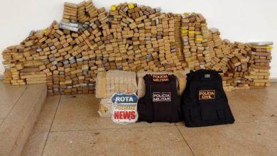 Foto de Casal é preso em operação conjunta das policias Militar e Civil com 745 quilos de drogas