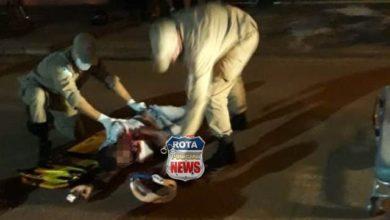 Photo of Urgente: homem sofre traumatismo craniano e fica inconsciente após ser atropelado por moto