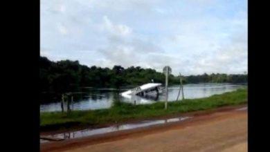 Photo of Vídeo: chalana afunda em trecho rio Guaporé, em cidade do Cone Sul