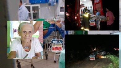 Photo of Idosa vítima de acidente na BR-364 morre na UTI de Vilhena, motorista de carro foi transferido para Cacoal