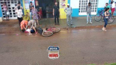 Photo of Garota fica em estado grave após atravessar avenida e ser atingida por camionete em Vilhena