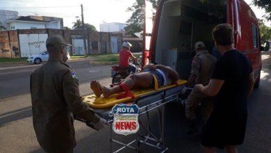 Photo of Ex-prefeito de Vilhena atinge ciclista na avenida Tancredo Neves e mulher sofre possível fratura no braço