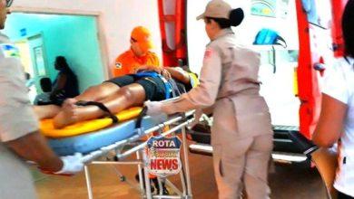 Photo of Corpo de Bombeiros socorrem mulher que  teria sido atingida por raio em Vilhena