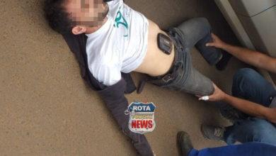 Photo of Funcionário de supermercado sofre diversos ferimentos após acidente entre carro e bicicleta