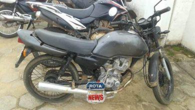 Photo of Polícia Militar apreende motocicleta com placa adulterada no bairro Embratel em Vilhena