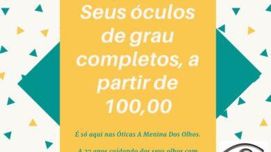 Foto de Ótica A Menina dos Olhos lança mais uma super promoção