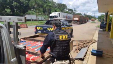 Photo of PRF apreende caminhonete com 157 kg de cocaína em Ji-Paraná
