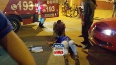 Photo of Mãe e filha que estavam em bicicleta são atingidas por carro em rotatória da avenida Perimetral