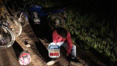 Photo of Suspeito sofre queda com moto na BR-174, fratura clavícula e foge do Hospital Regional