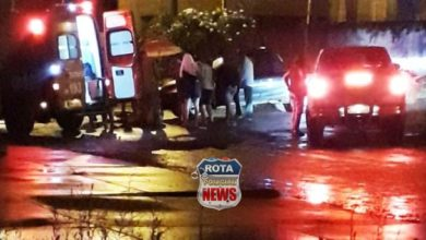 Photo of Colisão entre bicicleta e picape deixa uma pessoa ferida no Centro de Vilhena