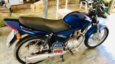 Photo of Motocicleta é furtada no bairro Jardim América em Vilhena
