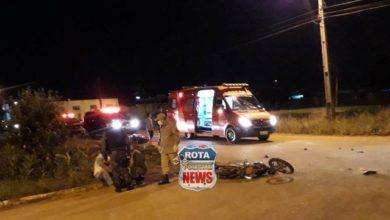 Photo of Motociclista provoca acidente e é preso pelo PATAMO ao tentar fugir