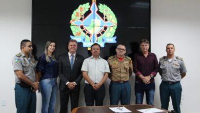"""Foto de Deputado Luizinho Goebel anuncia implantação da primeira escola """"Bombeiro Militar"""" no interior de Rondônia"""