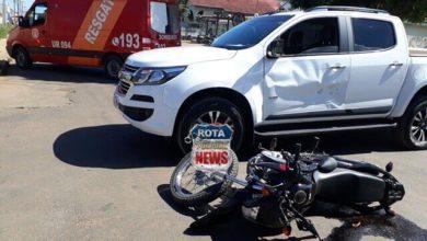 Photo of Motorista avança preferencial e provoca acidente com moto no Jardim Eldorado