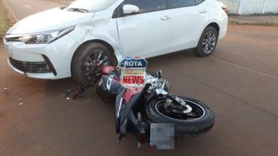 Photo of Vídeo: Motociclista é lançado por cima de carro após acidente de trânsito