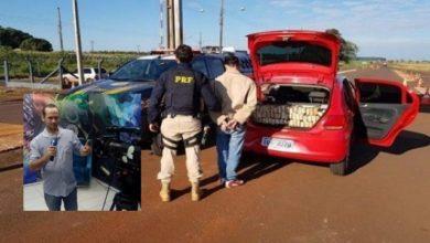 Foto de Vilhenense preso no Mato Grosso do Sul transportava 50% a mais de maconha do que foi anunciado