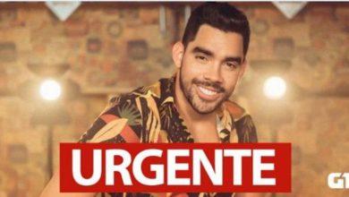 Foto de Avião em que estava o cantor Gabriel Diniz cai em Sergipe e Bombeiros confirmam três mortes