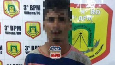 Photo of Policiais Militares capturam autor de roubo em distribuidora em Vilhena