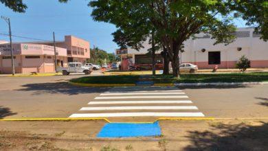Photo of Faixas de pedestres são pintadas diariamente em Vilhena: demarcação protege pedestres