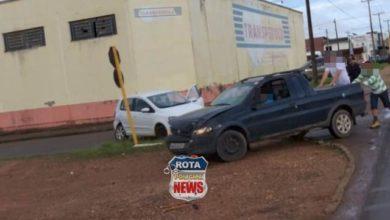 Photo of Colisão entre picape e carro de passeio deixa mulher ferida no bairro 5ºBEC